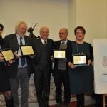 """""""Premi UNAMSI 2014"""" a Carlo La Vecchia, Daniela Minerva, Mirella Taranto e Riccardo Renzi"""