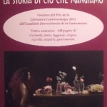 I libri dei nostri soci – A Renzo Pellati il 'Prix de la Littérature Gastronomique' per 'La storia di ciò che mangiamo'